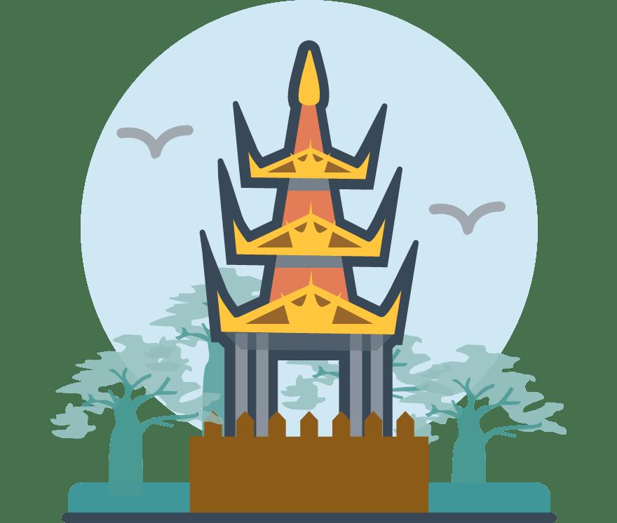 25 คาสิโนออนไลน์ ที่ดีที่สุดใน เมียนมาร์ (พม่า) 2021