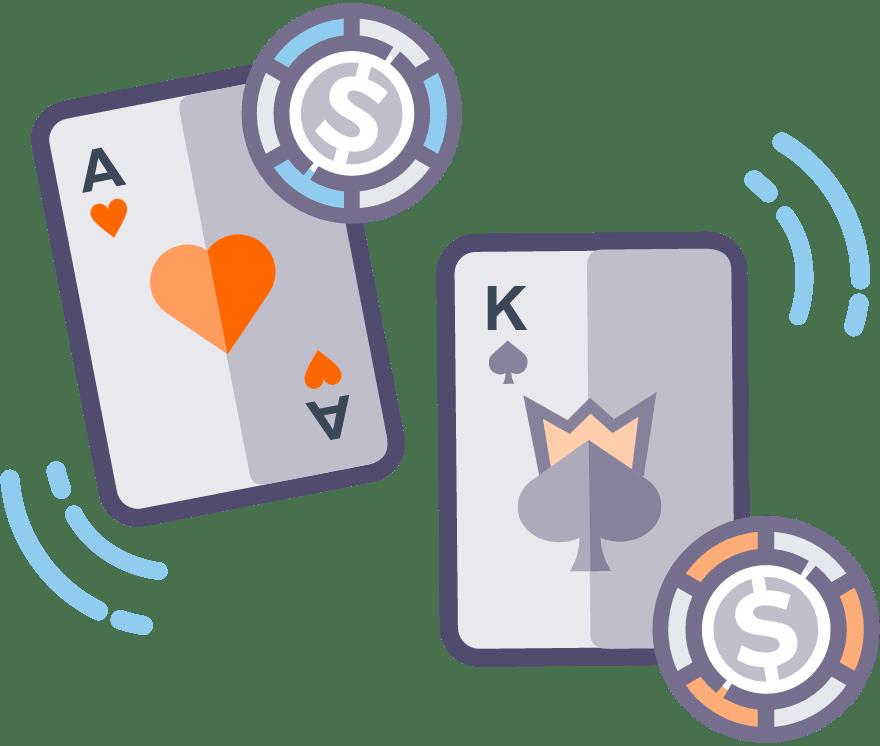 10 Casino War คาสิโนออนไลน์ ที่ดีที่สุดในปี 2021